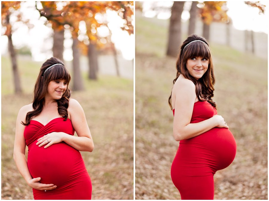 Dramatic Maternity Portraits in the woods by Just Maggie Photography - Los Angeles Maternity and Newborn Photographer