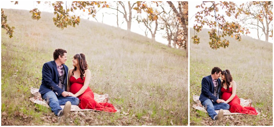 Modern and Dramatic Maternity Portraits by Just Maggie Photography - Los Angeles Maternity and Newborn Photographer