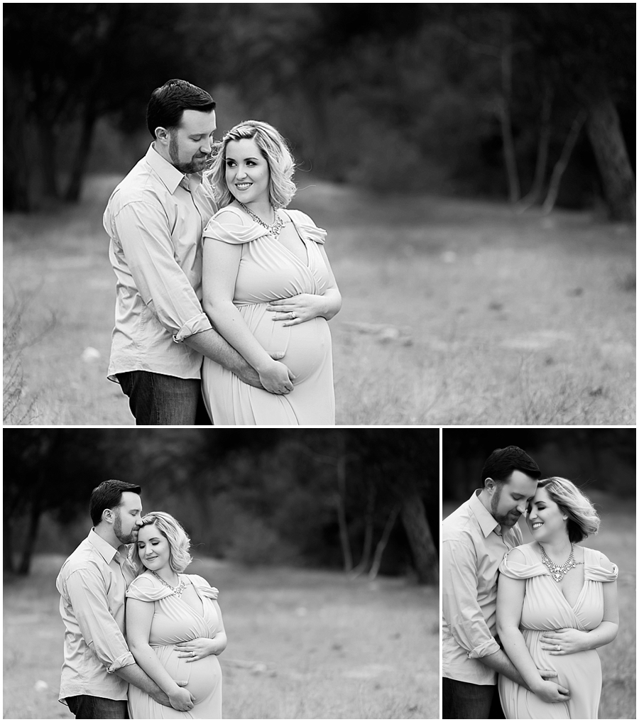 Modern Black & White Maternity Portrait Photography by Just Maggie Photography -- Los Angeles Maternity and Newborn Photographer