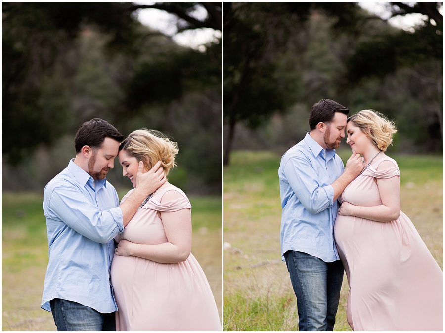 Modern Couples Maternity Portrait Photography by Just Maggie Photography -- Los Angeles Maternity and Newborn Photographer