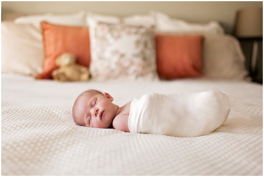 Lifestyle Newborn Portraits by Just Maggie Photography - Los Angeles Maternity & Newborn Photographer