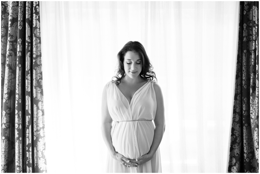 Romantic Maternity Portraits at Home by Just Maggie Photography -- Los Angeles Maternity and Newborn Photographer
