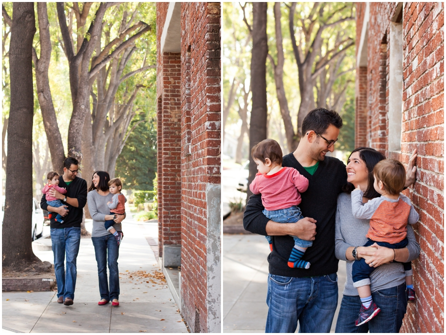 Family Portraits in Pasadena by Just Maggie Photography -- Los Angeles Family Photographer