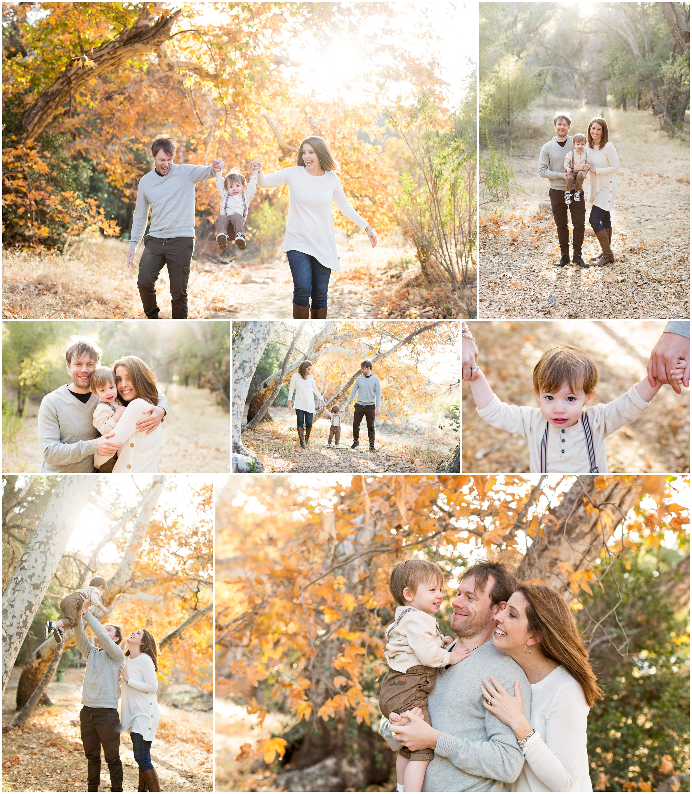 Fall Family Portraits by Just Maggie Photography - Los Angeles Family Photographer
