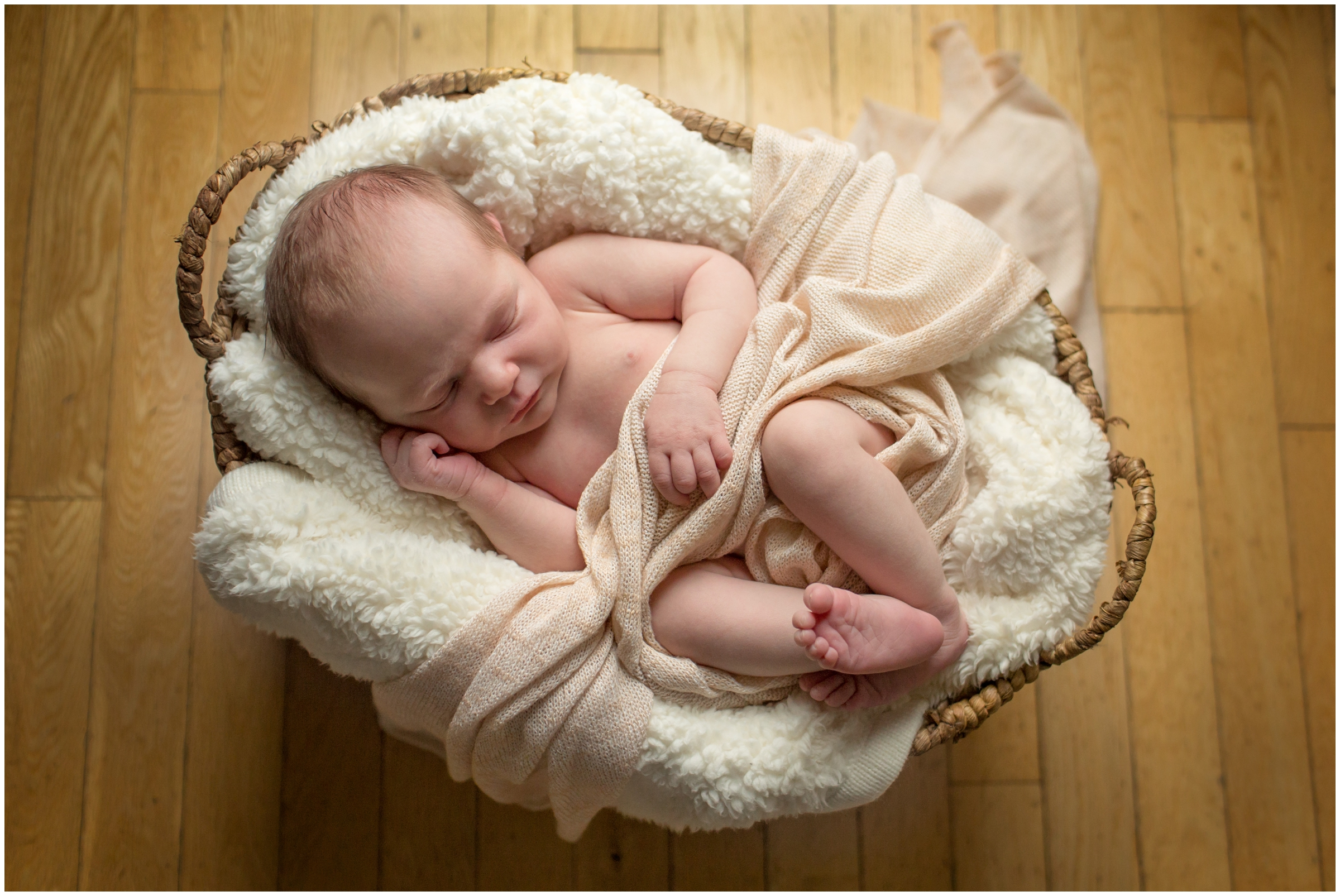 Natural Newborn Photography by Just Maggie Photography - Los Angeles Newborn Photographer