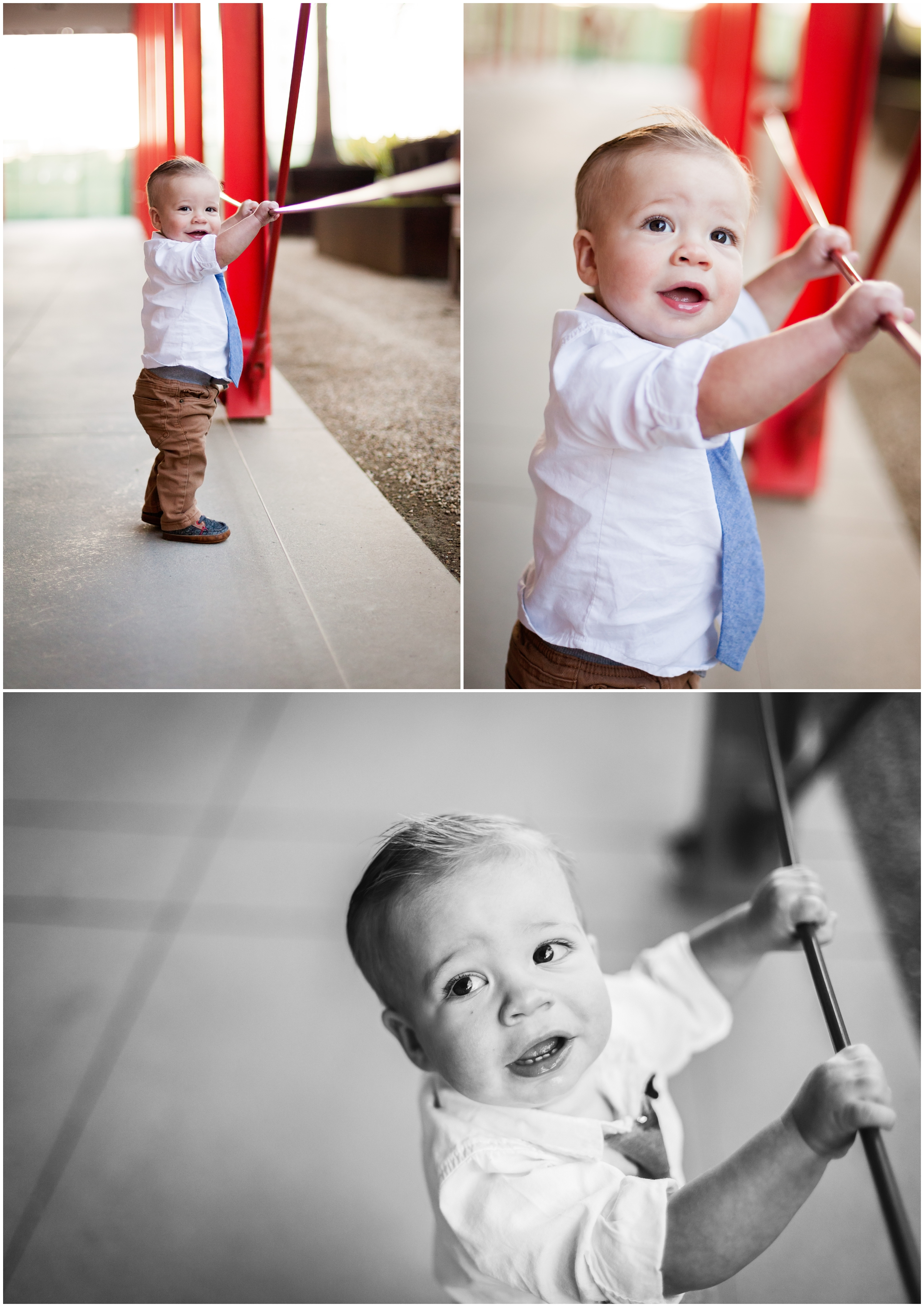Baby Portraits at LACMA by Just Maggie Photography - Los Angeles Baby Photographer