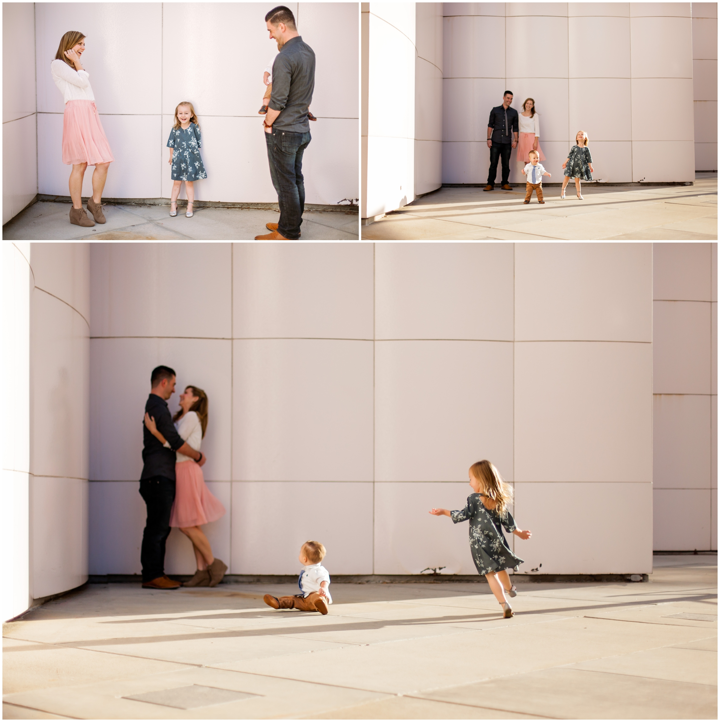 Family Portraits at LACMA by Just Maggie Photography - Los Angeles Family Photographer