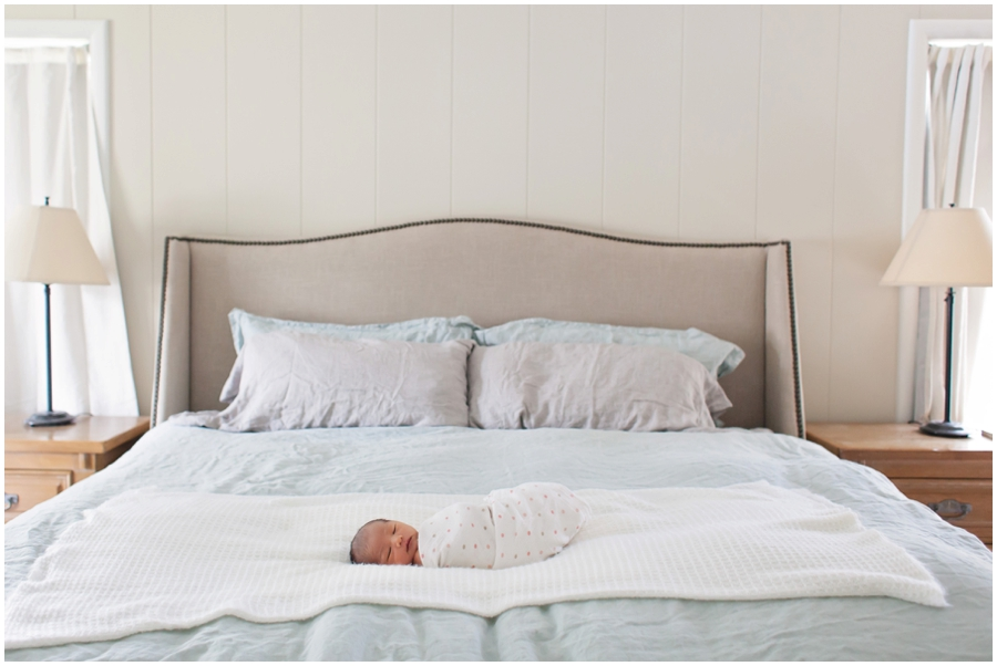 Classic Newborn Portraits at Home by Just Maggie Photography -- Los Angeles Maternity and Newborn Photographer