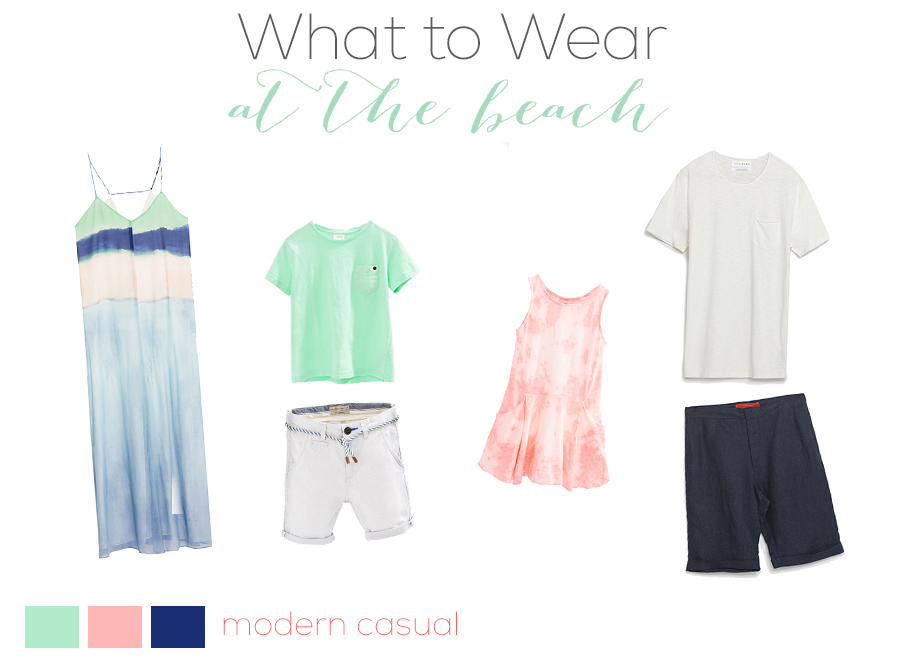 What to Wear to a Family Portrait Session at the Beach by Just Maggie Photography - Los Angeles Family Photographer