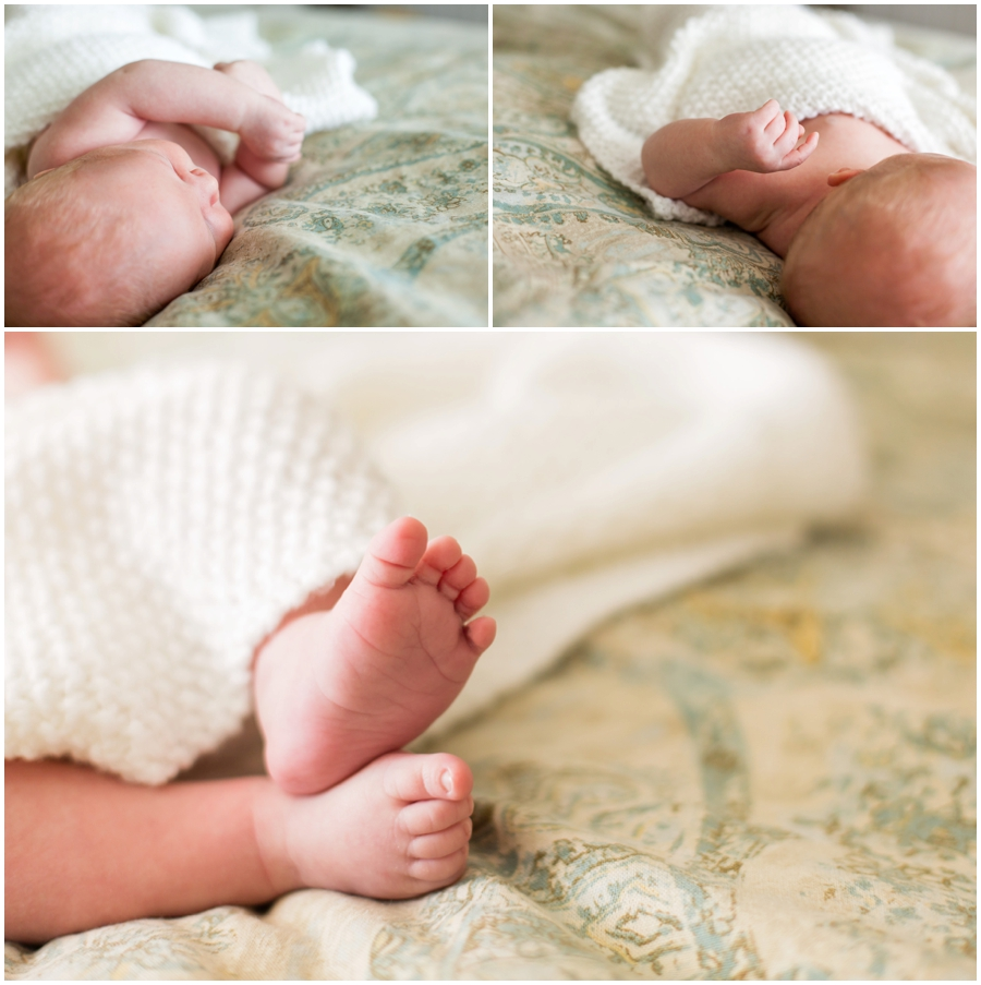 Classic Newborn Portraits with Indoor Light at Home by Just Maggie Photography -- Los Angeles Maternity and Newborn Photographer