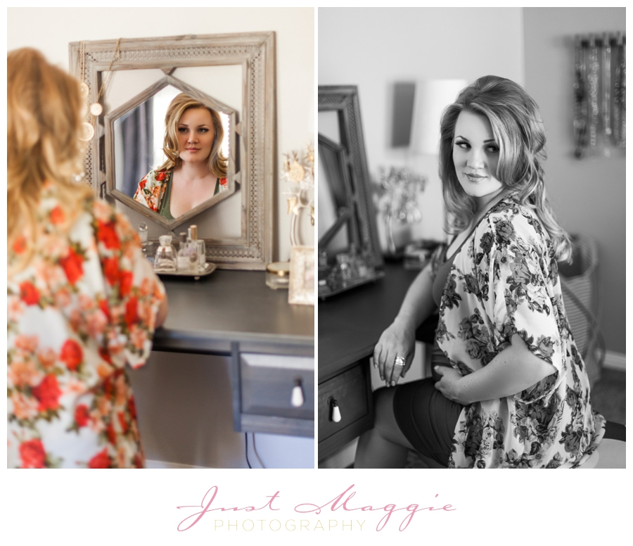 At Home Maternity Portraits by Just Maggie Photography - Los Angeles Maternity and Newborn Photographer