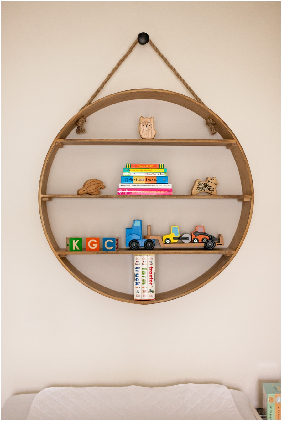 Modern Nursery by Just Maggie Photography