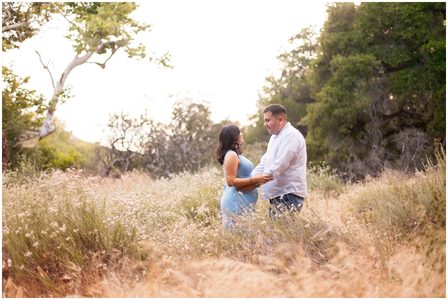 Romantic Maternity Portraits in a Field by Just Maggie Photography - Los Angeles Maternity & Baby Photographer