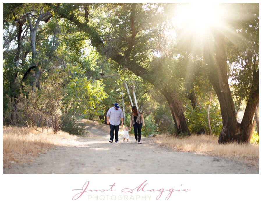 Woodsy One Year Old Portraits by Just Maggie Photography - Los Angeles Baby's First Year Photographer