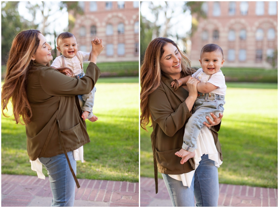9 Month Old with Mom by Just Maggie Photography - Los Angeles Baby Photographer