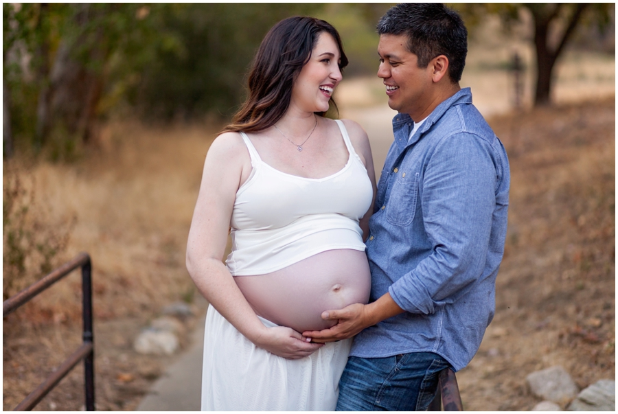 Moody Maternity Portraits by Just Maggie Photography - Los Angeles Maternity & Baby Photographer