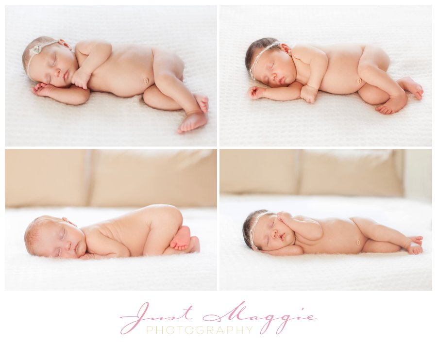 Newborn Twin Girls by Just Maggie Photograpy - Los Angeles Newborn Photographer