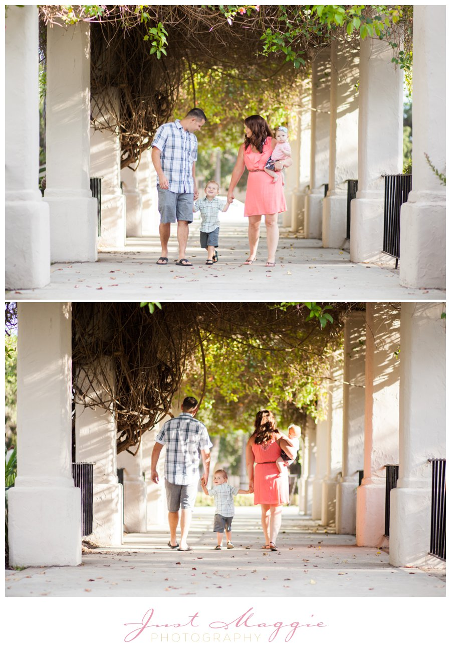 Modern Family Photography by Just Maggie Photography - Los Angeles Family Photographer
