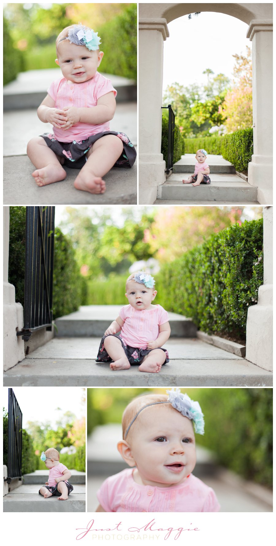 Modern Baby Photography by Just Maggie Photography - Los Angeles Family Photographer