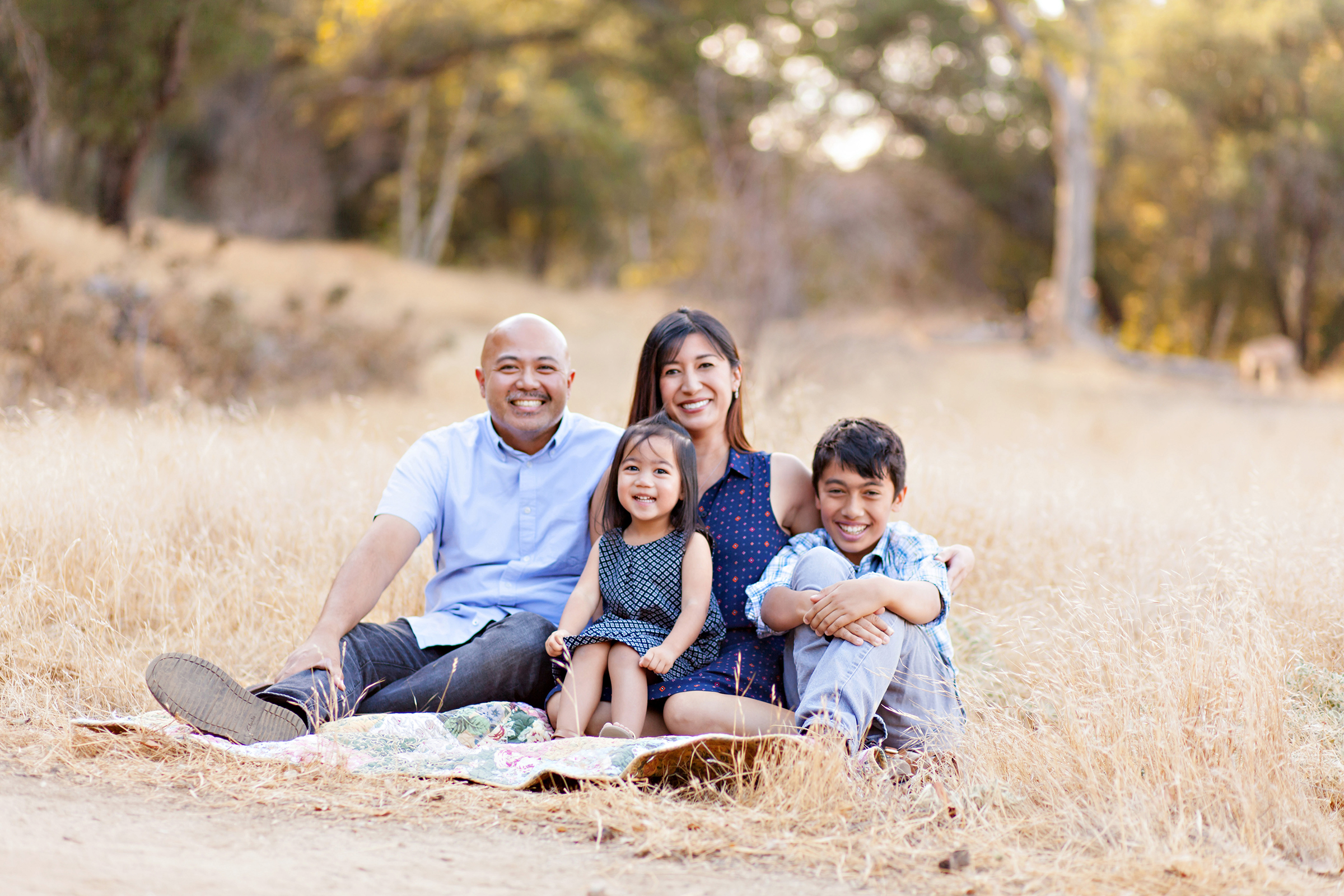 Fall Family Portraits by Just Maggie Photography Los Angeles Family Photographer