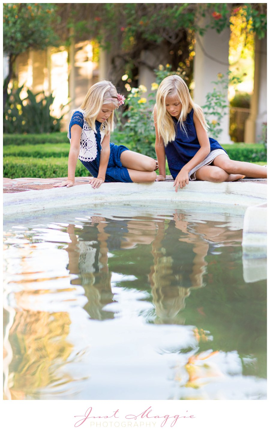 Sibling Portraits by Just Maggie Photography - Los Angeles Family Portrait Photographer