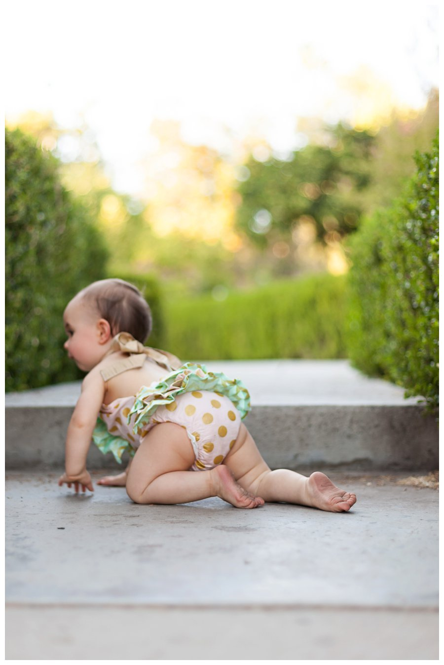 One Year Old Baby Portraits by Just Maggie Photography - Los Angeles Baby Photographer