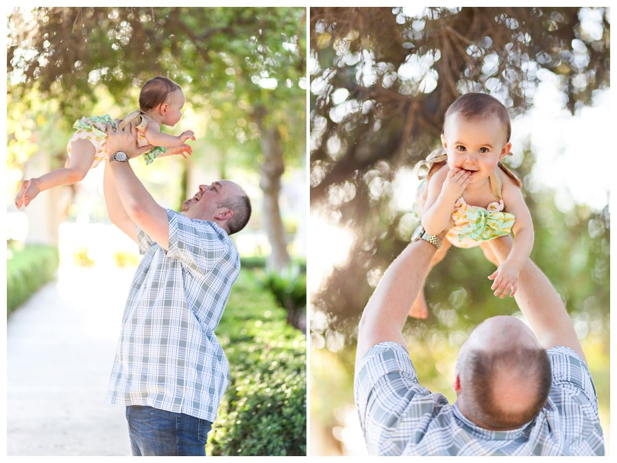 Dad and Baby Portraits by Just Maggie Photography - Los Angeles Baby Photographer