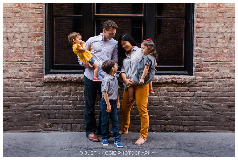 Los Angeles family portraits by Just Maggie Photography - Los Angeles Family Portrait Photographer