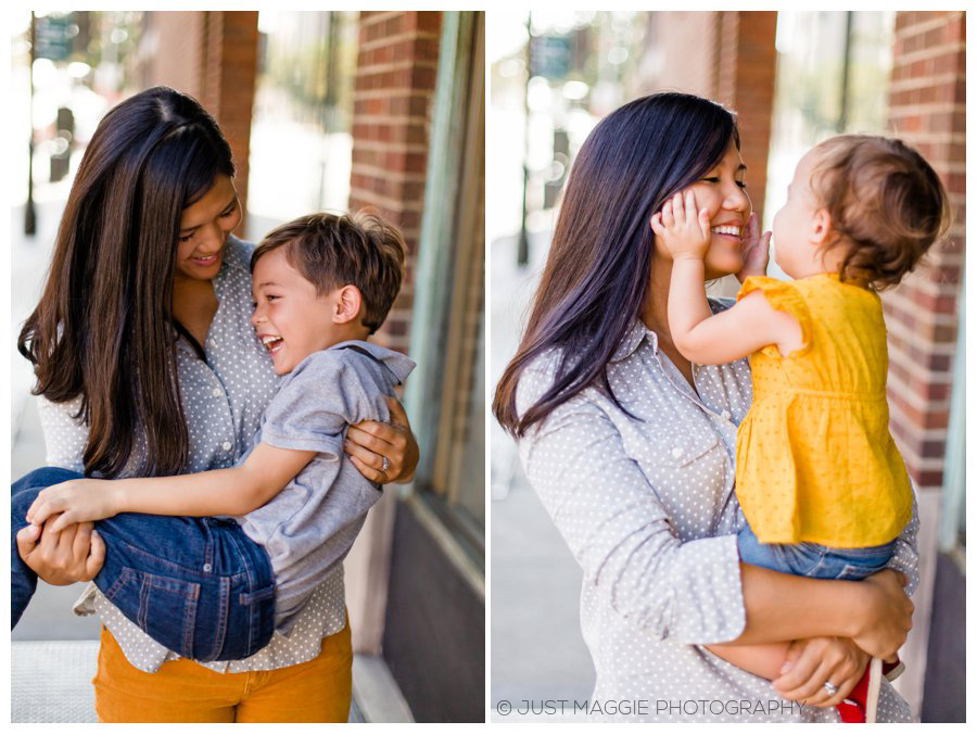 Loving family portraits by Just Maggie Photography - Los Angeles Family Portrait Photographer