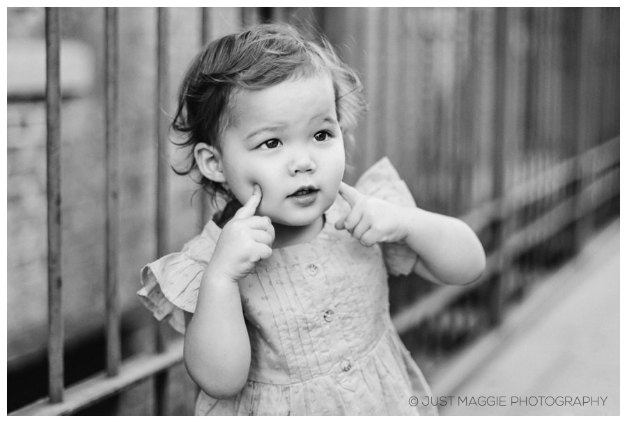 Modern child portraits by Just Maggie Photography - Los Angeles Family Portrait Photographer