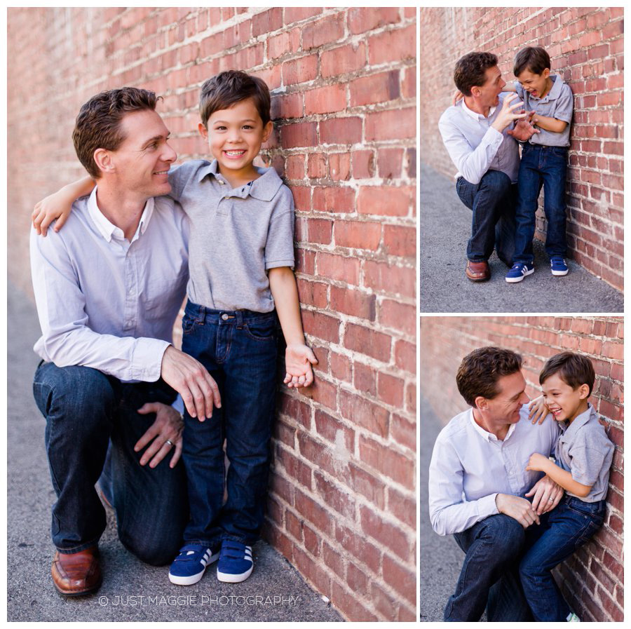 Modern family portraits by Just Maggie Photography - Los Angeles Family Portrait Photographer