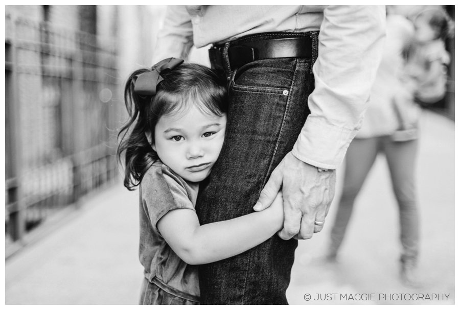 Natural family portraits by Just Maggie Photography - Los Angeles Family Portrait Photographer