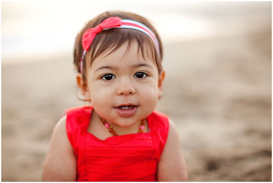 One Year Old on the Beach by Just Maggie Photography - Los Angeles Baby Photographer