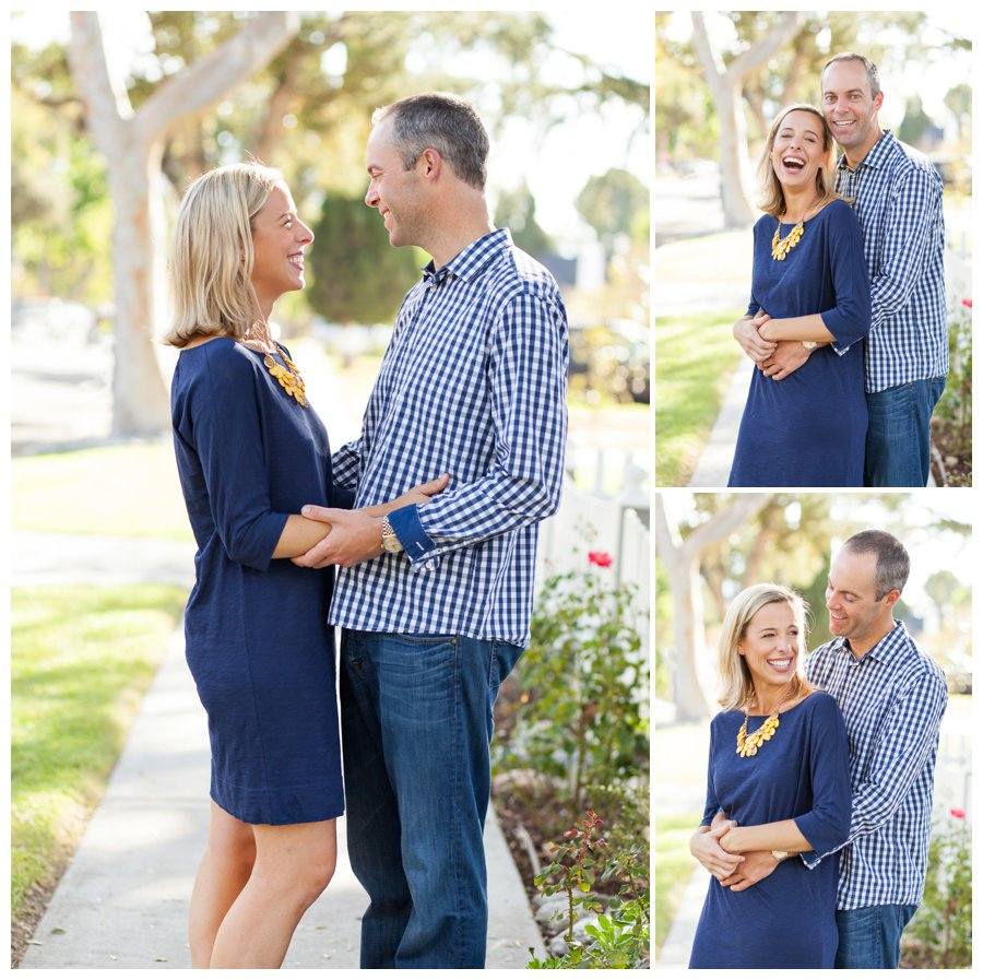 Relaxed Mom and Dad portraits by Just Maggie Photography -- Pasadena Family Photographer