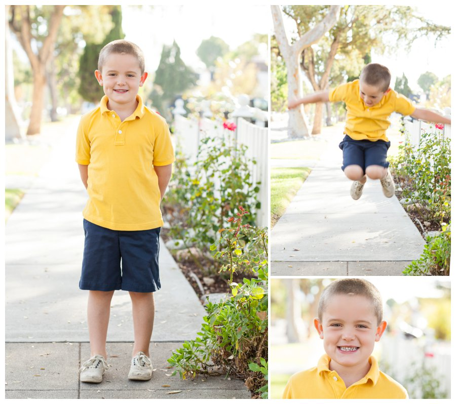 Modern children's portraits by Just Maggie Photography -- Pasadena Family Photographer