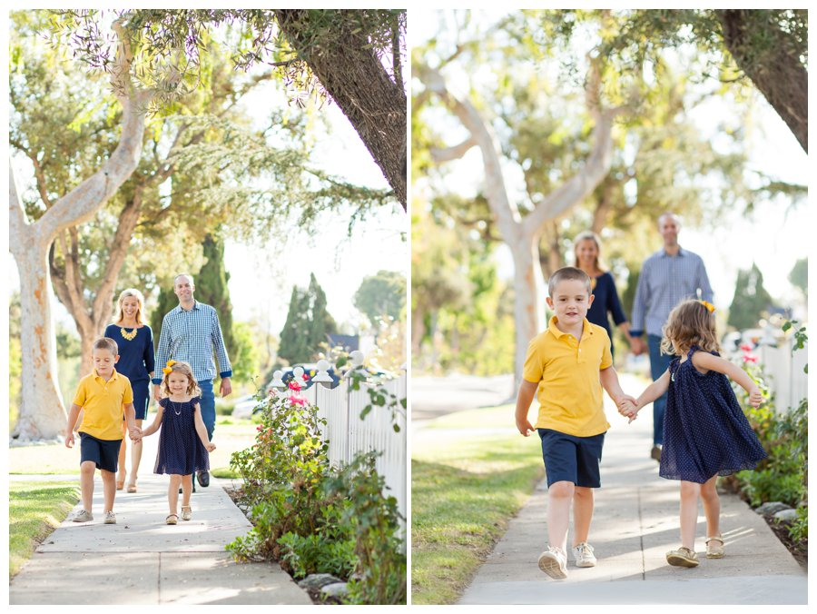 Pasadena family photography in the neighborhood by Just Maggie Photography -- Los Angeles Family Photographer
