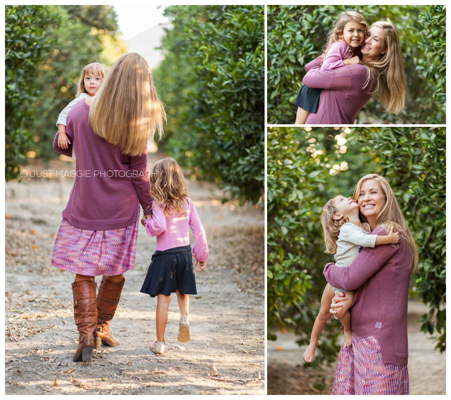 Beautiful family portrait photography by Just Maggie Photography - Santa Clarita Family Portrait Photographer