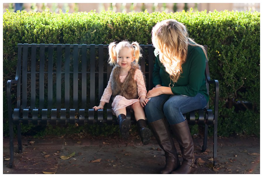 Candid mom and daughter portrait by Just Maggie Photography -- Los Angeles Family Photographer