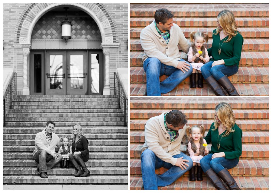Fall family portraits at UCLA by Just Maggie Photography -- Los Angeles Family Photographer