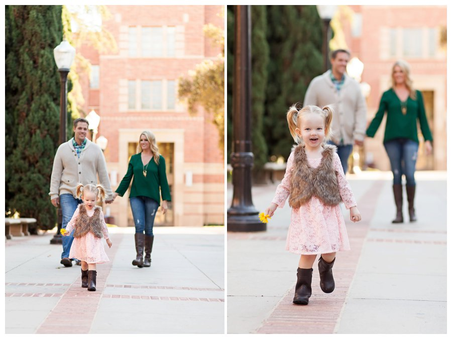 UCLA fall family portraits by Just Maggie Photography -- Los Angeles Family Photographer