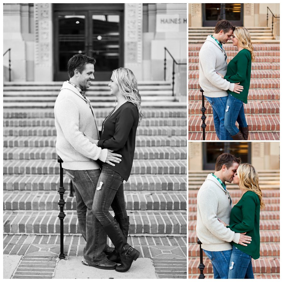 Romantic fall portraits at UCLA by Just Maggie Photography -- Los Angeles Family Photographer