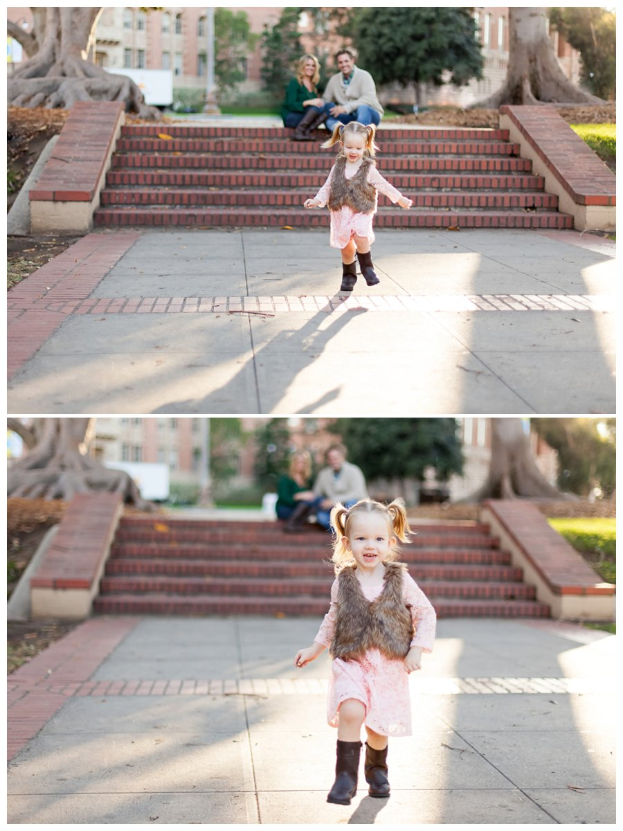 UCLA family holiday portraits by Just Maggie Photography -- Los Angeles Family Photographer