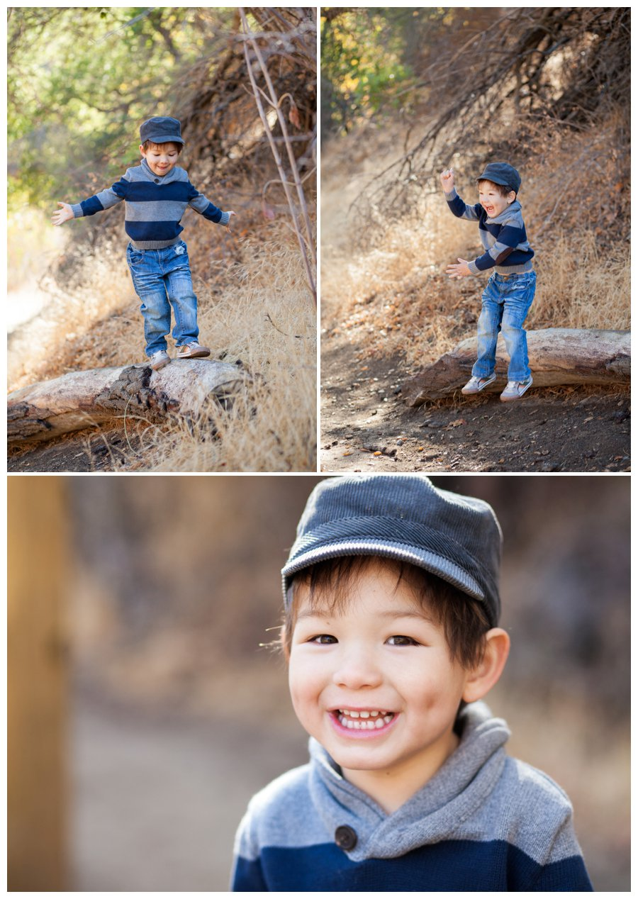 Modern little boy portraits outdoors by Just Maggie Photography -- Los Angeles Family Photographer