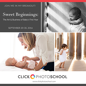 Sweet Beginnings: The Art of Business & Baby's First Year - Breakout Session 2016