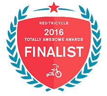 Red Tricycle Totally Awesome Awards Finalist 2016